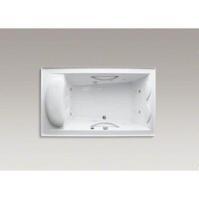 "Kohler Riverbath 75"" X 45"" Whirlpool Bath with Integral Flange, Chromatherapy and Heater Without Jet Trim"