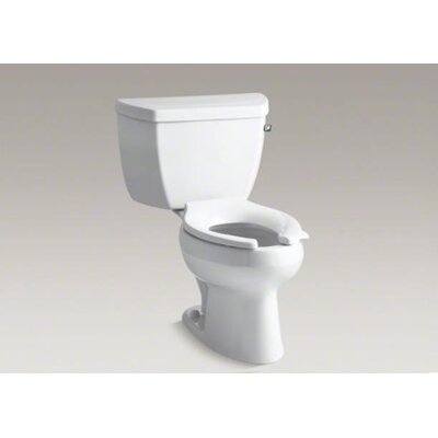 Kohler Wellworth Classic 1.0 GPF Elongated 2 Piece Toilet