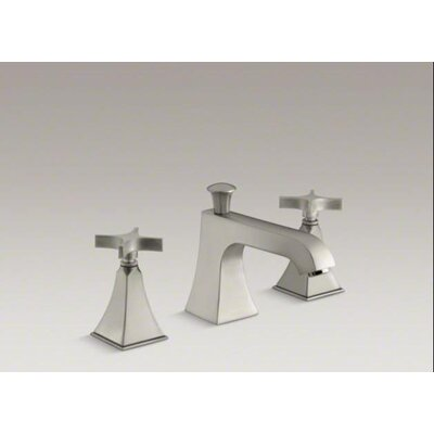 Kohler Memoirs Stately Deck-Mount Bath Faucet Trim For High-Flow Valve with Diverter Spout