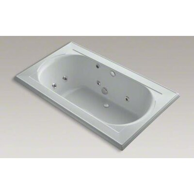 "Kohler Memoirs 72"" x 42"" Drop-in Effervescence Whirlpool with Relax Experience"