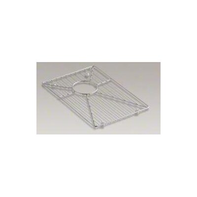 "Kohler Stainless Steel Bottom Bowl Rack, 15.93"" x 11.06"" For Vault K-3823 and K-3839 Kitchen Sinks"