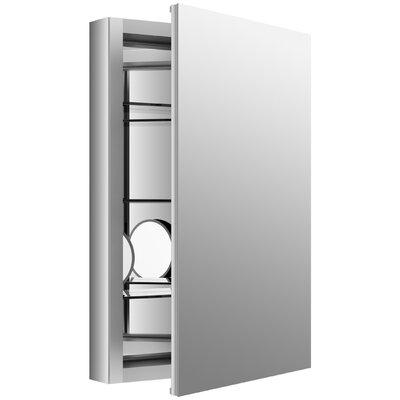kohler verdera 20 w x 30 h aluminum medicine cabinet with adjusta