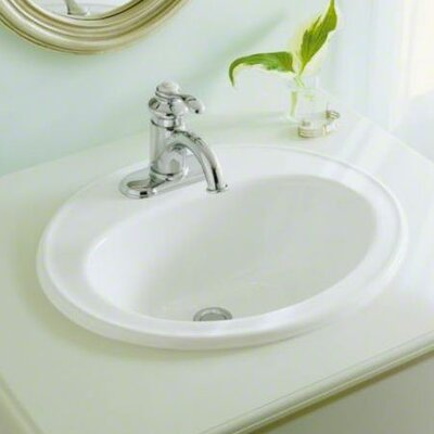 Kohler Pennington Self-Rimming Lavatory with Single-Hole Drilling
