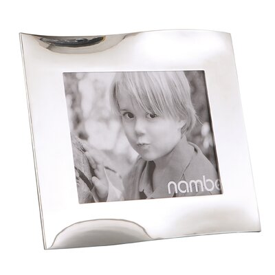 Nambe Ribbon Picture Frame