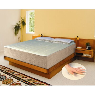 "Eclipse Perfection Rest 14"" Eclipse Deluxe Cashmere Memory Foam Mattress"