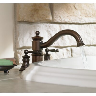 Moen Waterhill Double Handle Roman Tub Faucet with Built-in Hand Shower Diverter