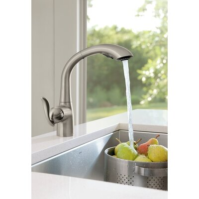 Moen Arbor One Handle High Arc Kitchen Faucet