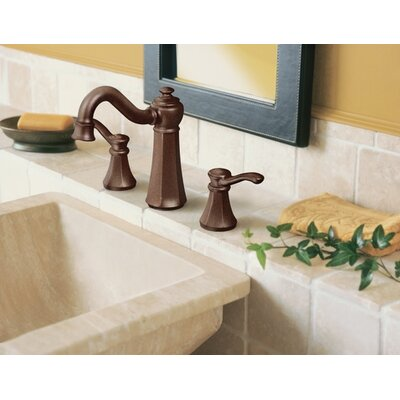 Moen Vestige Two Handle Widespread High Arc Bathroom Faucet