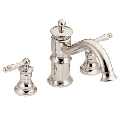 Moen Waterhill Two Handle High Arc Roman Tub Faucet