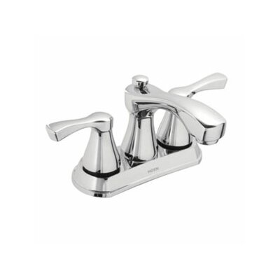Belmont Two Handle Centerset Low Arc Bathroom Faucet - 84902 / 84902SRN