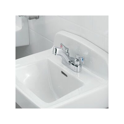 Moen M-Dura Two Handle Centerset Bathroom Faucet