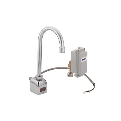 M-Power Sensor-Operated Electronic Centerset Lead Compliant High Arc Bathroom Faucet - CA8304