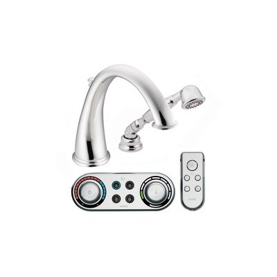 Moen Kingsley High Arc Roman Tub Faucet with Hand Shower