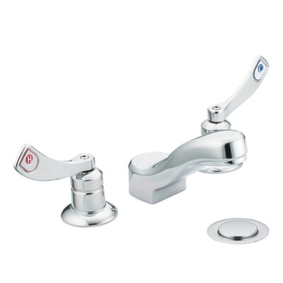 Moen M-Dura Widespread Bathroom Faucet with Cold and Hot Handles
