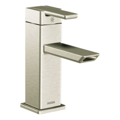 Moen 90 Degree One-Handle Low Arc Bathroom Faucet