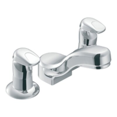 Moen Commercial Widespread Bathroom Faucet with Double Handles