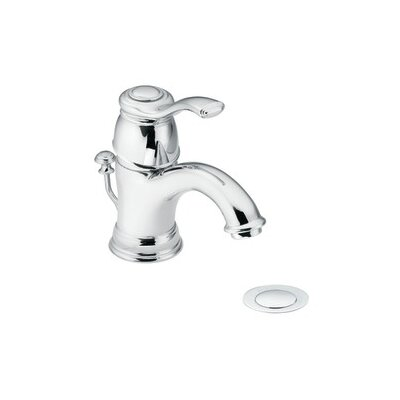 Kingsley Single Hole Bathroom Faucet with Single Lever Handle - 6102
