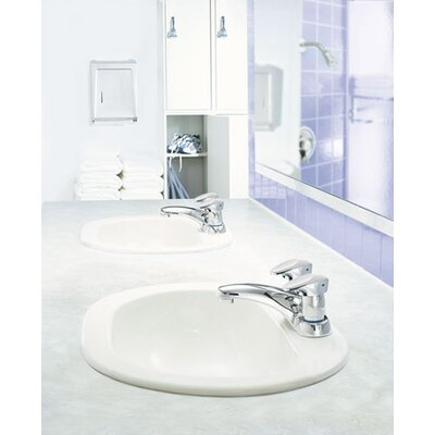 Moen Commercial Centerset Bathroom Faucet with Double Handles