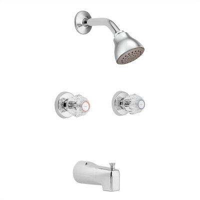 Moen Chateau Dual Control Tub And Shower Faucet Amp Reviews