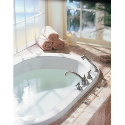 Moen Kingsley Two Handle Roman Tub Faucet with Diverter Valve