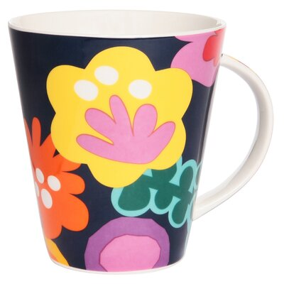 French Bull Poppy Tall Mug