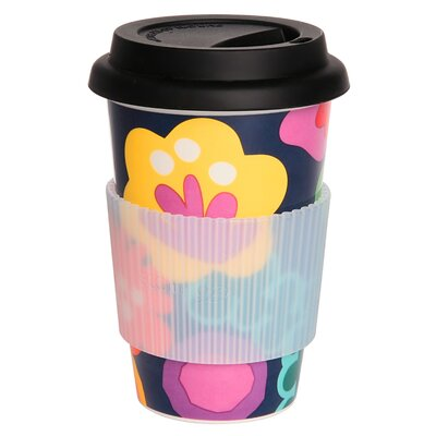 French Bull Poppy Travel Mug with Lid