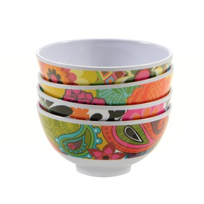 French Bull Floral Mini Bowls (Set of 4)