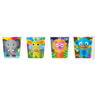 French Bull Jungle Kids Juice Cups (Set of 4)