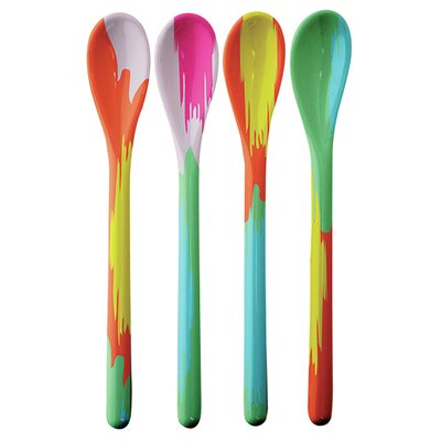 French Bull Kat Dessert Spoons (Set of 4)