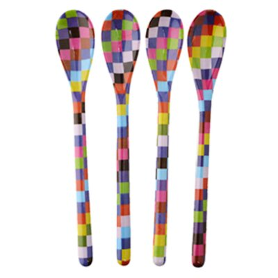 French Bull Pixie Dessert Spoons (Set of 4)