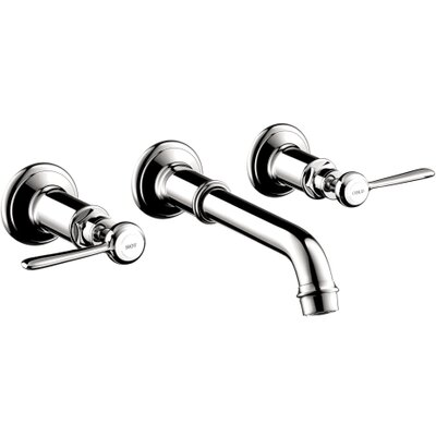 Hansgrohe Axor Montreux Widespread Wall Mounted Faucet Trim with Lever Handle
