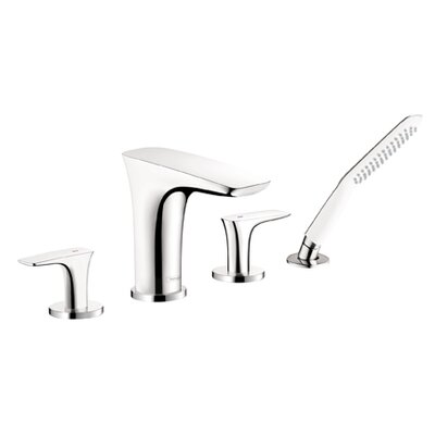 Hansgrohe Puravida 4 Hole Double Handle Deck Mount Roman Tub Faucet Trim Lever Handle