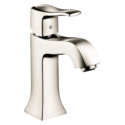 Hansgrohe Metris C Single Hole Bathroom Faucet with Single Lever Handle - 31075