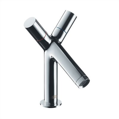Hansgrohe Axor Starck Single Hole Bathroom Faucet with Double Handles
