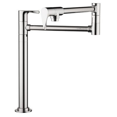 Hansgrohe Axor Citterio Double Handle Deck-Mounted Pot Filler Faucet