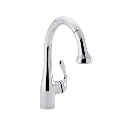 Hansgrohe Allegro One Handle Single-Hole Bar Faucet with Full Spray and Needle Spray
