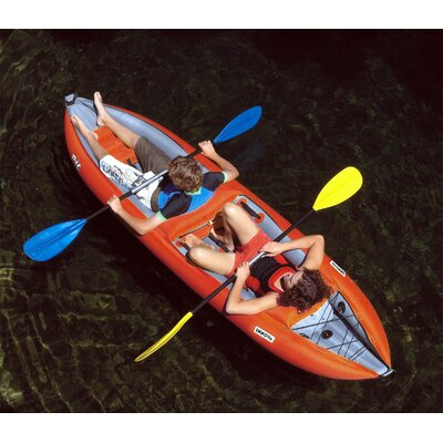 Innova Kayak Twist II Inflatable Kayak in Red / Gray