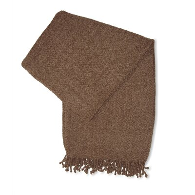 Jovi Home Royal Chenille Throw in Mocha
