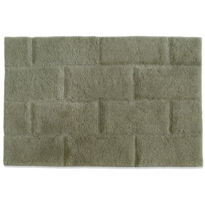 Jovi Home Bamboo Viscose Mason Bath Mat in Gray