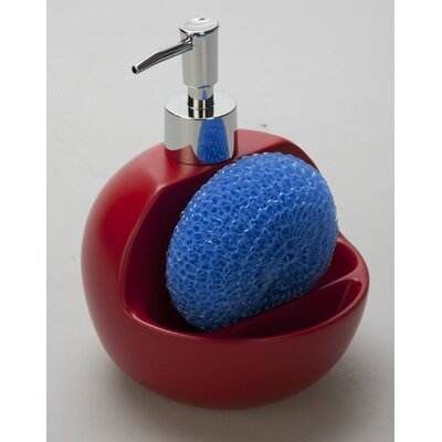 Jovi Home Lily 2-n-1 Sink Soap Dispenser