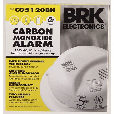 First Alert AC Powered Carbon Monoxide Alarm