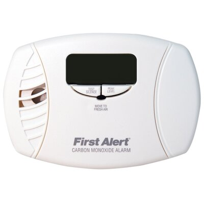 First Alert Carbon Monoxide Alarm with Backlit