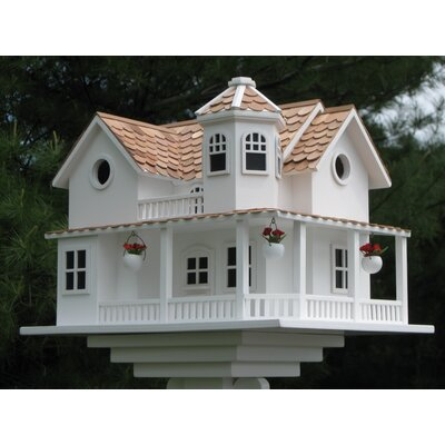 Home Bazaar Signature Series 'Post Lane' Cottage Birdhouse