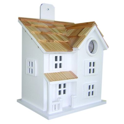 Home Bazaar Fledgling Series Townhouse Birdhouse