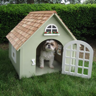 Advantek The Country Barn Dog House Amp Reviews Wayfair