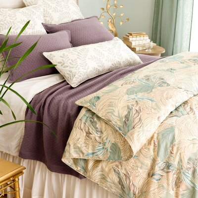 Pine Cone Hill Plumes Diamond Coverlet Collection