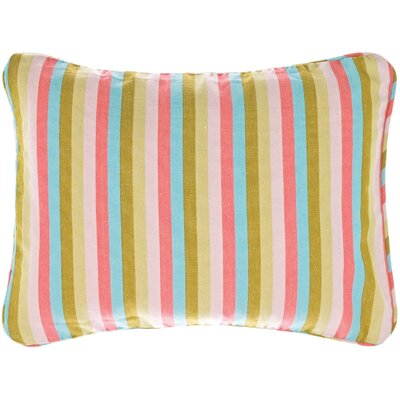 Pine Cone Hill Cabana Narrow Stripe Boudoir Pillow