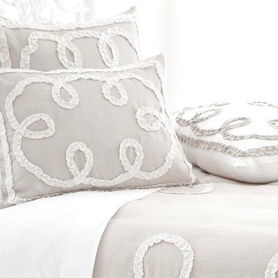 Pine Cone Hill Ruched Linen Duvet Cover Collection