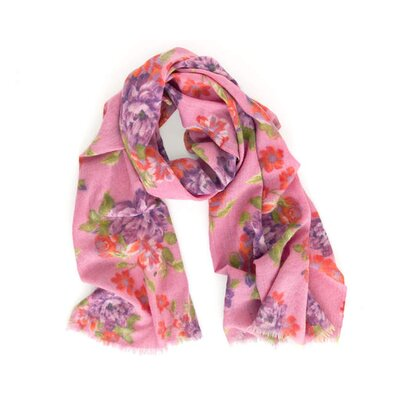 Pine Cone Hill Hot Rose Scarf