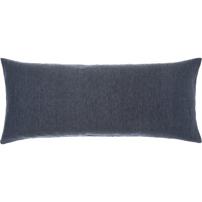 Pine Cone Hill Chambray Linen Double Boudoir Pillow